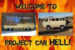 Illustration for article titled PCH, Fry In Econoline Hell Edition: 4x4 or Slammed?