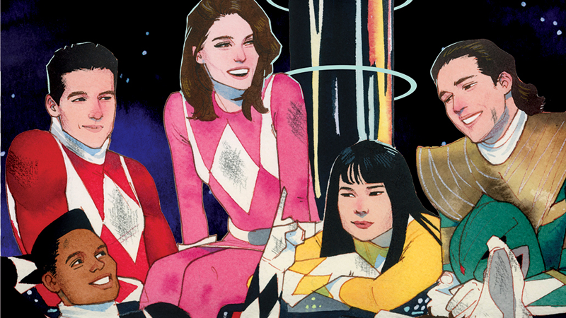 Illustration for article titled The NewPower RangersComics Feature Really Stylish Teens