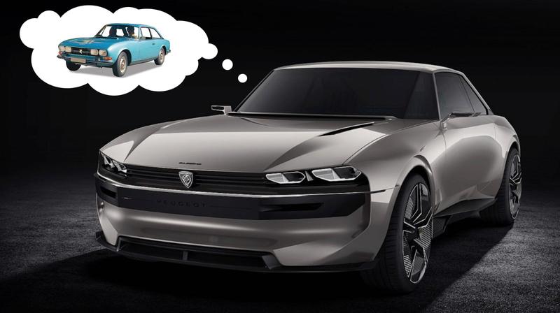 Illustration for article titled Here's Peugeot's Slick New Electric and Autonomous Retro Concept, the E-Legend