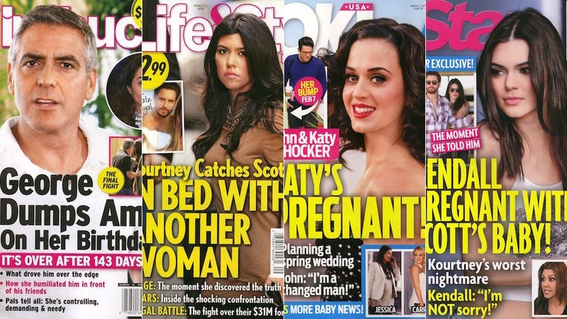 Illustration for article titled This Week In Tabloids: Kendall Is Having Scott's Baby, Isn't Sorry