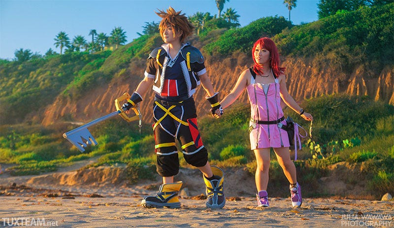 Illustration for article titled Kingdom Hearts Comes To Life