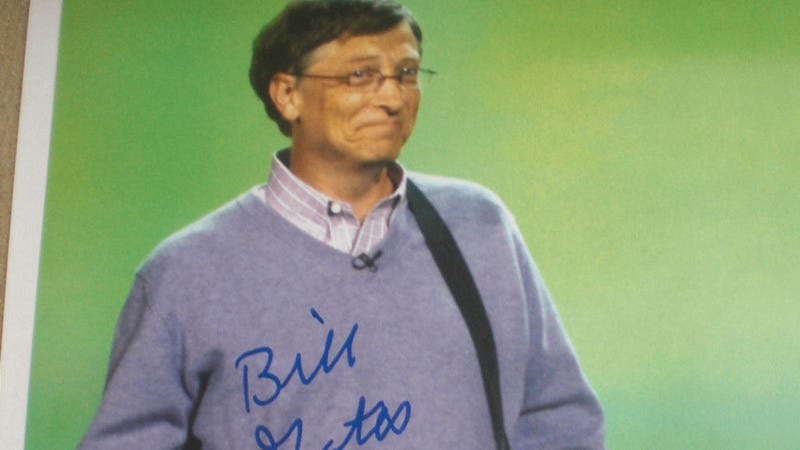 Illustration for article titled The Only $1000 Bill Gates Photo You Will Ever Need