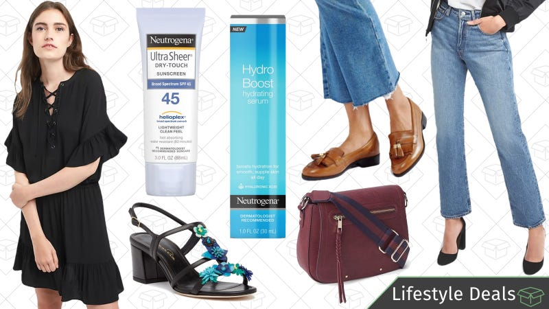 Illustration for article titled Friday's Best Lifestyle Deals: Neutrogena, ASOS, Designer Shoes, GAP, and More