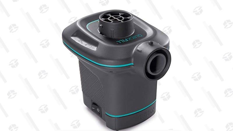 Intex Quick-Fill Electric Air Pump   $10   Amazon