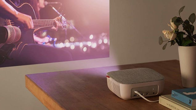 Turn Any Wall Into a TV With Anker s $100 Projector