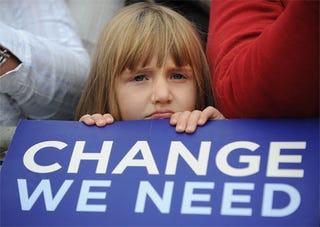 "Illustration for article titled GOP? STFU! Obama Is Not ""Indoctrinating"" Kids Into Socialism"