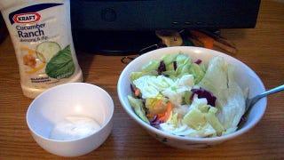 Illustration for article titled Fatty Salad Dressing Might Make Vegetables Healthier