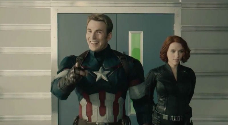 Illustration for article titled TheAvengers: Age of Ultron Gag Reel Isn't Just Funny, It's Creepy Too