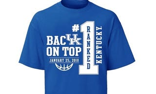 Illustration for article titled Kentucky Back On Top...For About 36 Hours