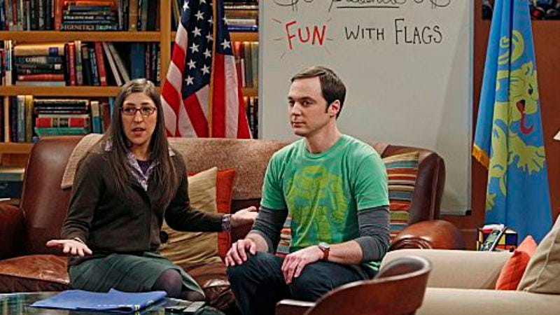 "Illustration for article titled The Big Bang Theory: ""The Vacation Solution"""