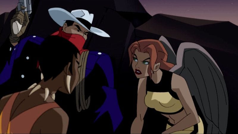 "Illustration for article titled Justice League Unlimited: ""Hunter's Moon"""