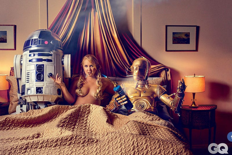 Illustration for article titled Lucasfilm is Pissed About These Amy Schumer Star Wars Photos