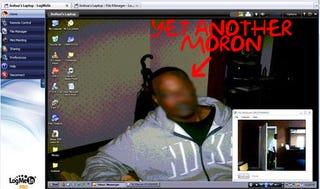 Illustration for article titled Laptop Burglar Caught After Owner Mocks Him Remotely