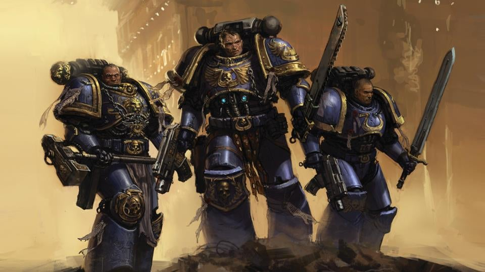 Warhammer 40k Space Marines: Warhammer 40K: Space Marine Pits Thousands Of Orks Against