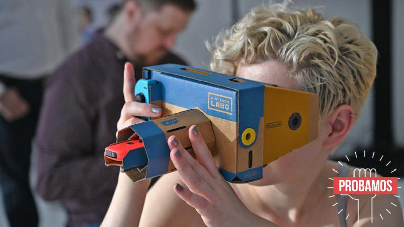 Illustration for article titled El kit Labo VR de Nintendo es la mejor forma de introducir a tus hijos a la programación