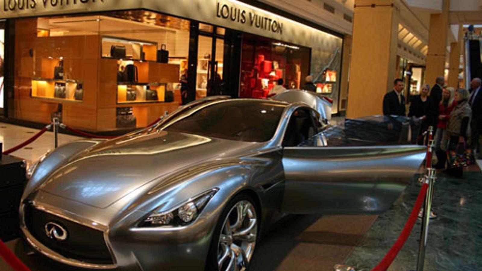 8ea289d9e24 $2.4 Million Infiniti Essence Concept Visits Suburban Detroit Louis ...