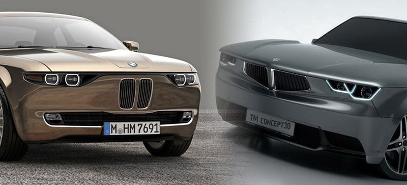 Illustration for article titled Which Of These Two BMW Redesign Concepts Does It Better?