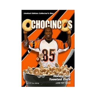 Illustration for article titled Ochocinco's Cereal Box Features Phone Sex Number