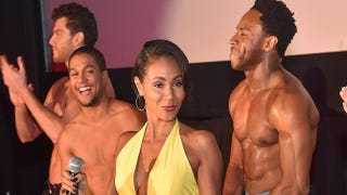Jada Pinkett Smith attends theMagic Mike XXL Ladies Night Out Advanced Screening at Landmark Midtown Art Cinema June 23, 2015, in Atlanta. Paras Griffin/Getty Images for Warner Bros