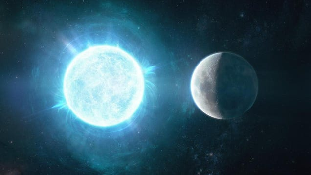 Astronomers Found an Ultra-Dense White Star the Size of Our Moon