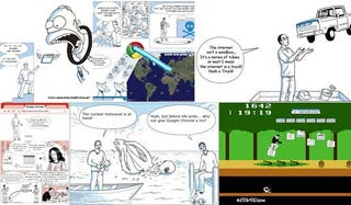 Illustration for article titled Google's Chrome Comic Gets Bastardized 70 Different Ways