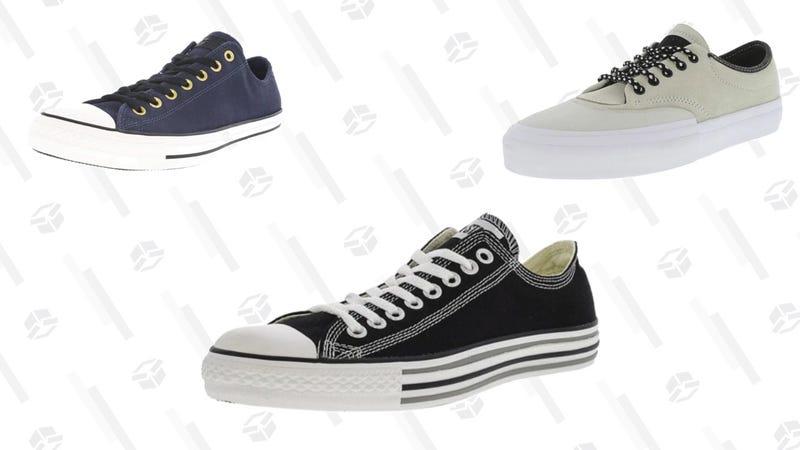 $30 Converse Shoes | Daily Steals | Promo Code KJCNVRS\