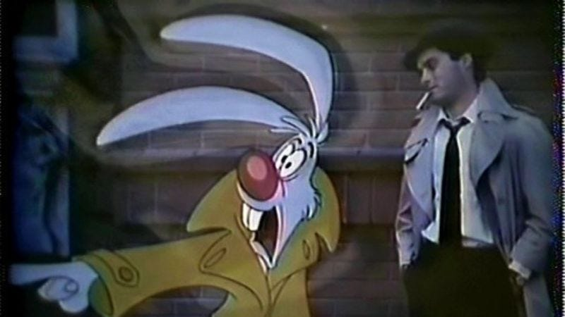 Illustration for article titled Watch footage from Disney's early Who Framed Roger Rabbit attempt starring Paul Reubens
