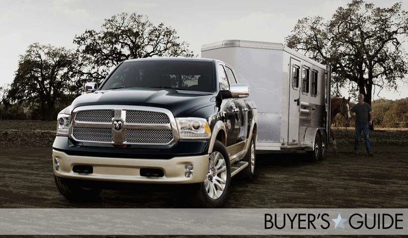 Illustration for article titled Ram 1500: The Ultimate Buyer's Guide