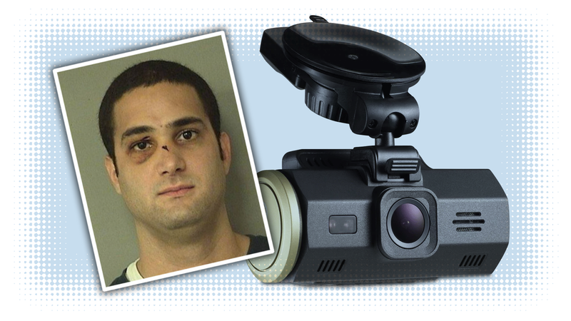 Illustration for article titled Florida Man Gives Cops Dashcam Video That Shows He Didn't Cause Wreck But Did Burglarize A Store