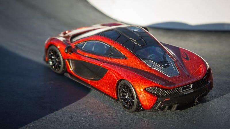 Illustration for article titled WILDCARD. McLaren P1 in Volcano Orange