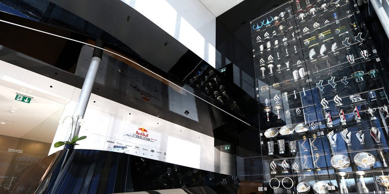 Illustration for article titled Break In At Red Bull Racing Factory Includes Loss Of Over 60 Trophies