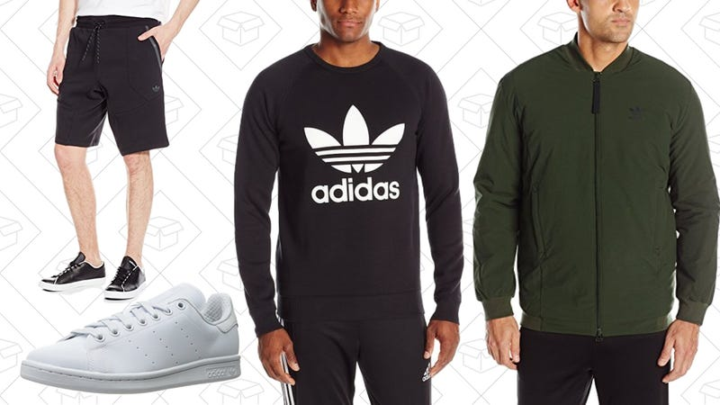Adidas Men's Apparel and Sneakers Gold Box