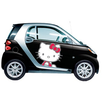 Illustration for article titled Now Available: Hello Kitty Car!