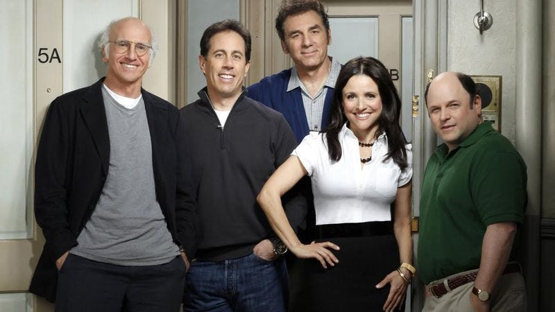 Illustration for article titled Jerry Seinfeld sort-of confirmed a Seinfeld reunion