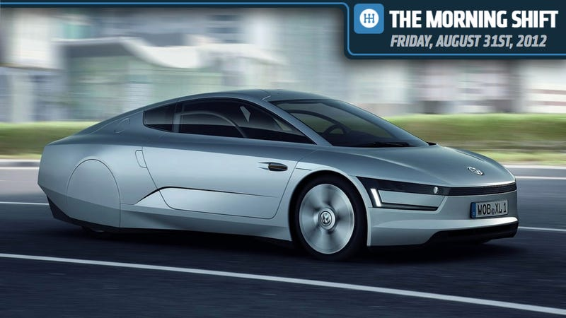 Illustration for article titled VW Tests 261 MPG Diesel Hybrid, GM Wants A Paint Shop, And Clint Goes Rambling