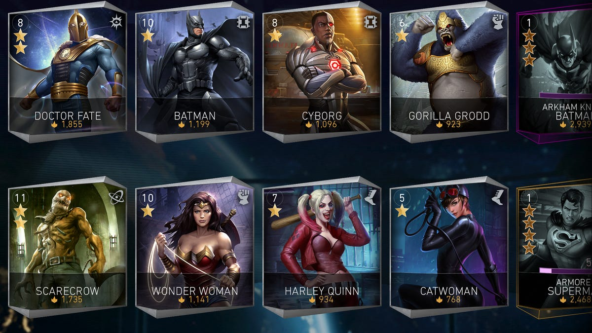 Injustice 2's Mobile Game Is A Little Rough, But It'll Do