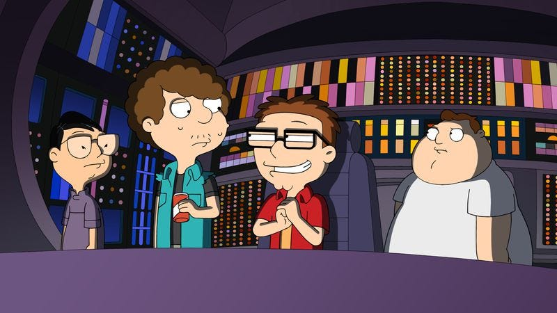 "Illustration for article titled American Dad: ""I Ain't No Holodeck Boy"""