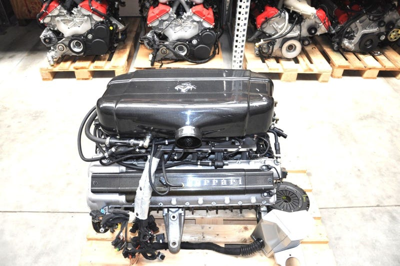 You Can Buy This Ferrari Enzo Engine For The Price Of A Jaguar FType