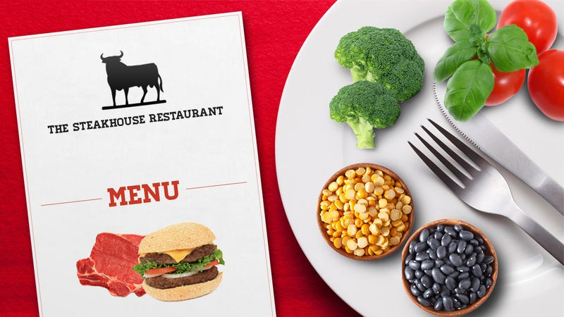How to Stick to a Vegetarian or Vegan Diet When It's Not on the Menu