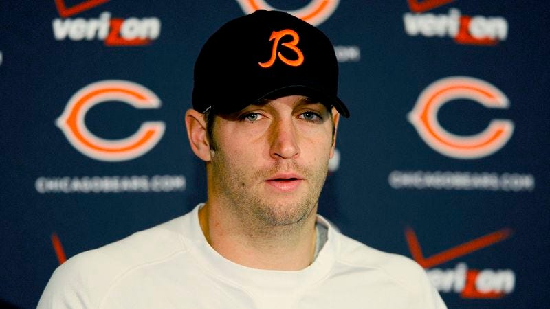 Illustration for article titled Jay Cutler: 'I'll Be The First Person To Admit We Need A New Punter'