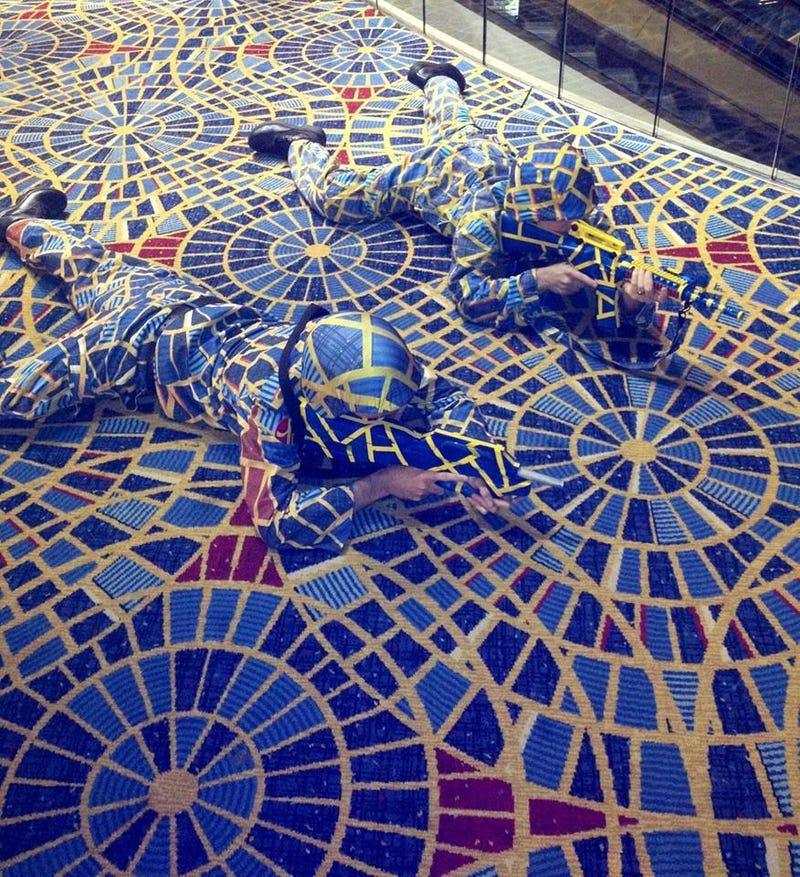 Illustration for article titled Prop maker gets cease & desist from carpet designer.