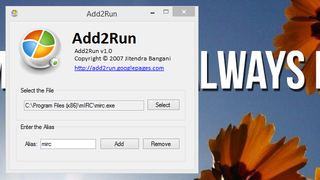 Illustration for article titled Add2Run Adds Custom App Aliases to the Run Dialog