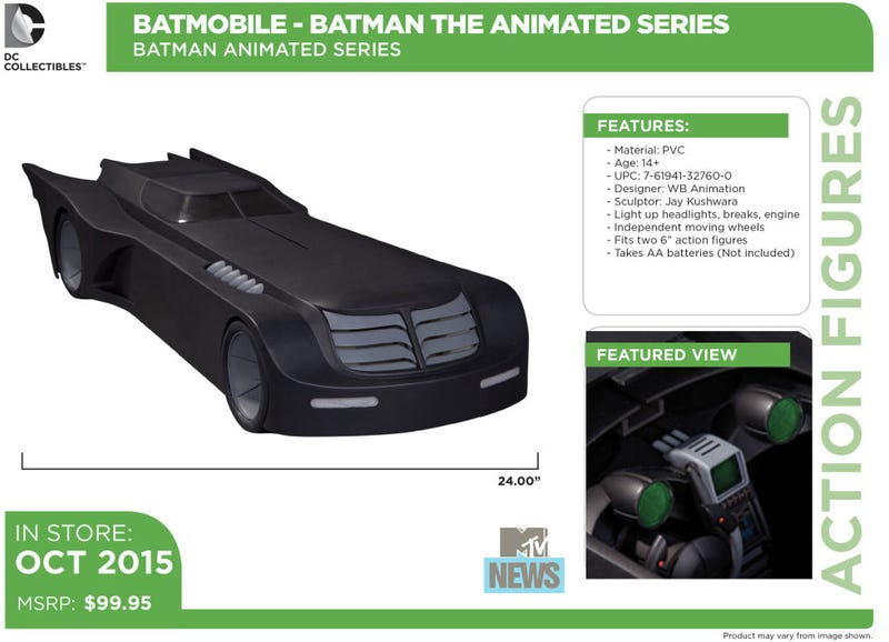 Illustration for article titled Drool Over This Two-Foot Long Version of the Best Batmobile Ever