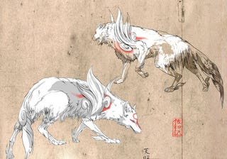 Illustration for article titled It's Not A New Okami, But At Least You Can Hang It On Your Wall