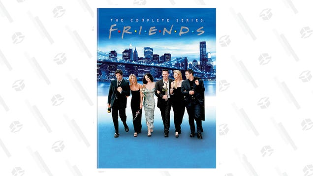Reschedule All Your Weekend Plans Because The Friends Gold Box Is Here