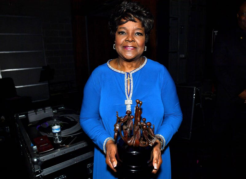 Shirley Caesar is honored during the National Museum of African-American Music 2016 Black Music Honors on Aug. 18, 2016 in Nashville, Tenn. Jason Davis/Getty Images for National Museum of African American Music