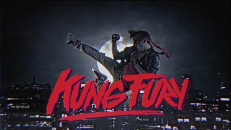 Illustration for article titled Kung Fury is here—in all its time traveling, Nazi fighting, dino-riding glory