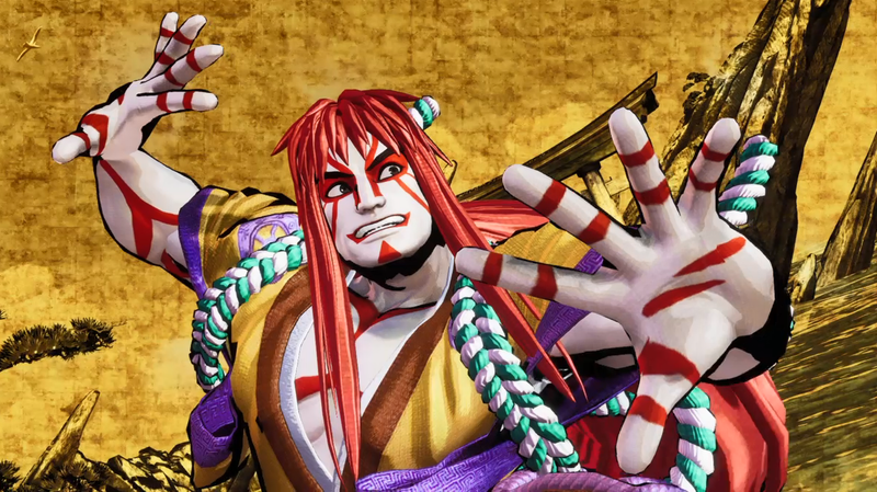 Illustration for article titled The Coolest-Looking Fighter In Samurai Shodown Is Unfortunately Shit