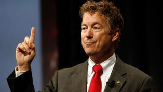 Sen. Rand Paul (R-Ky.) in 2014Mike Stone/Getty Images