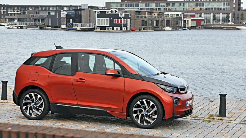 Illustration for article titled The BMW i3 Is Officially Much Greener Than Almost Every Other Car